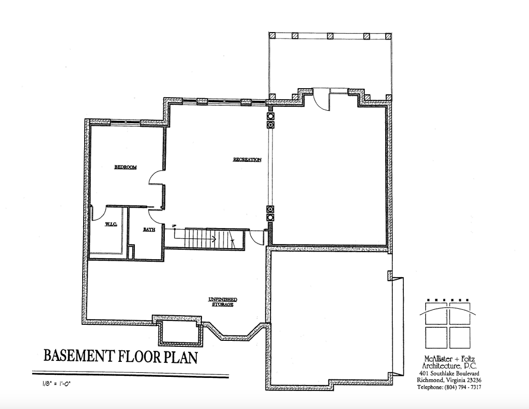 Monroe home design highland builders for Custom home floor plans with basement