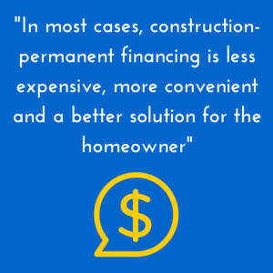 Construction permanent financing vs builder financing for How to choose a building contractor