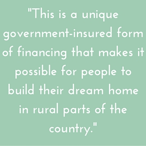 What s a usda rural development home loan highland builders for Building a house with usda loan